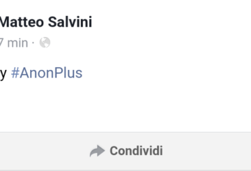 Sono un profeta: Salvini hackerato