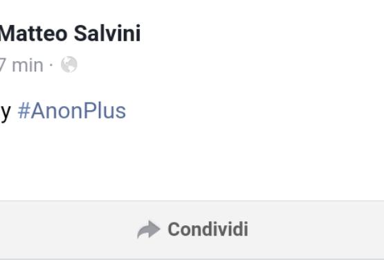 Il sito di Salvini è sicuro? Ecco cosa può essere successo